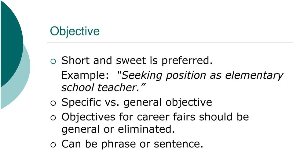 teacher. Specific vs.