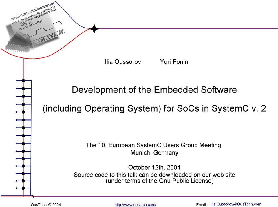 embedded software development tools pdf