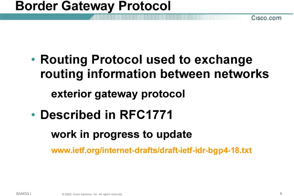 Bgp For Internet Service Providers Pdf