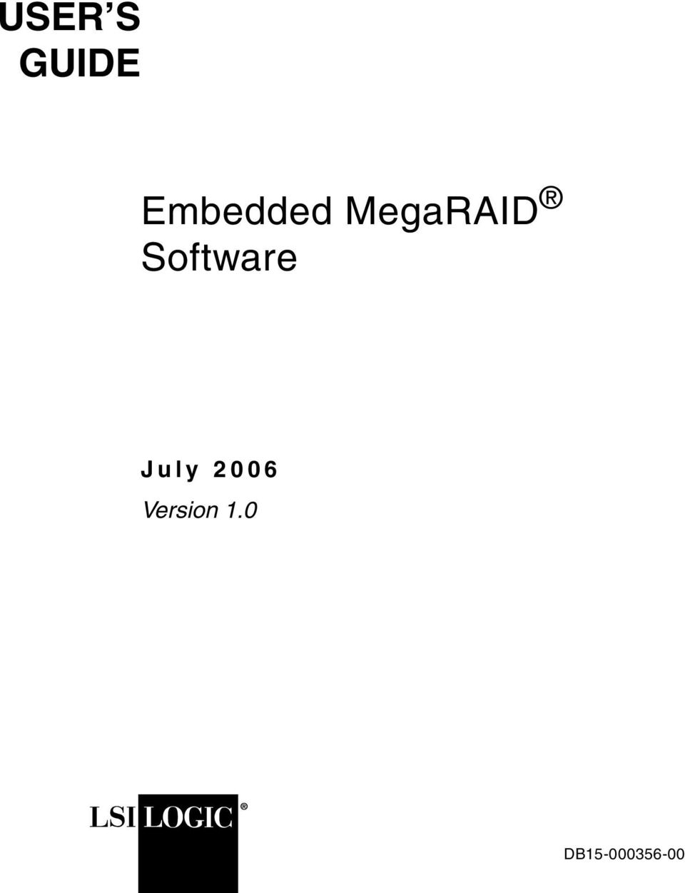 Software July 2006