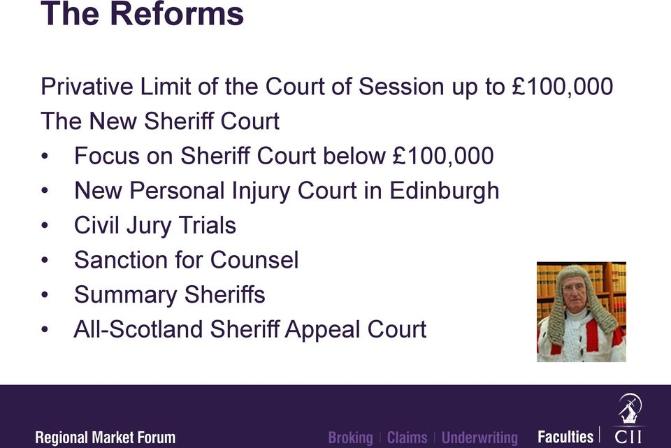 100,000 New Personal Injury Court in Edinburgh Civil Jury