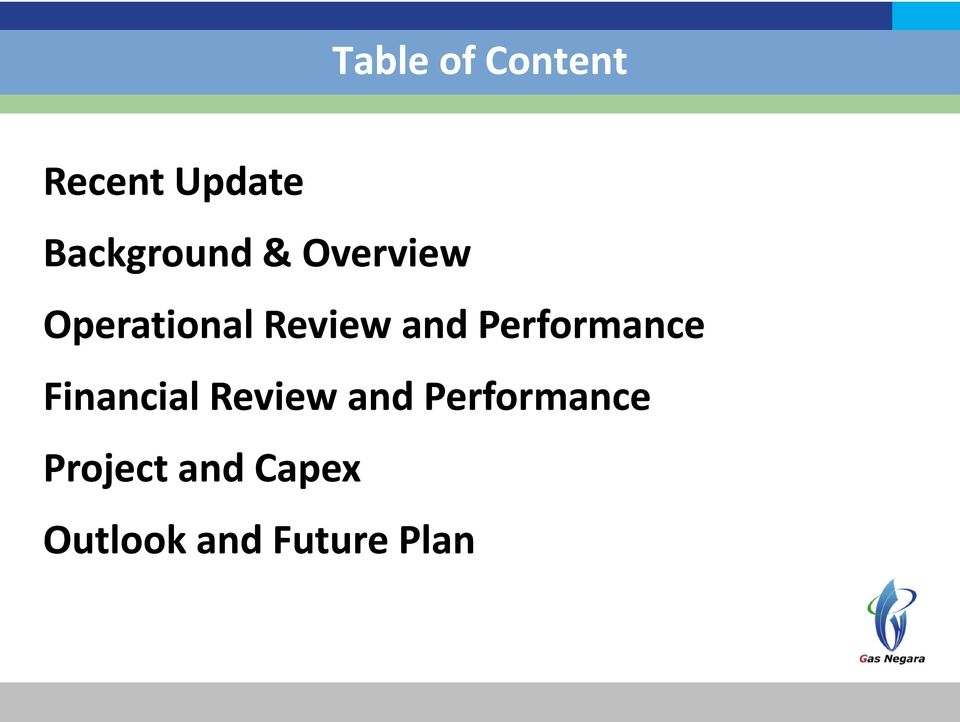 and Performance Financial Review and