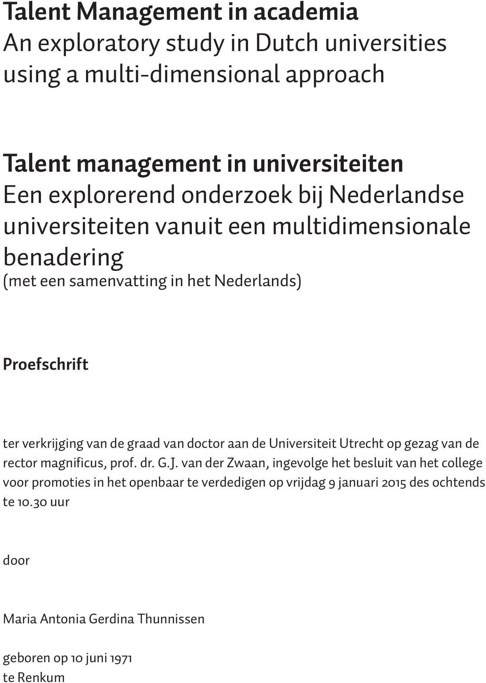 talent management in academia essay When you recommend something to management, what approach do you usually  use  what sort of performance standards have you held employees to.