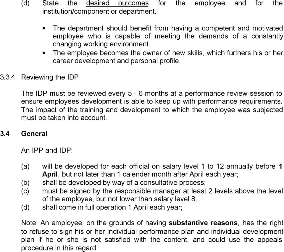 western cape education department procedure manual spmds pdf the employee becomes the owner of new skills which furthers his or her career development