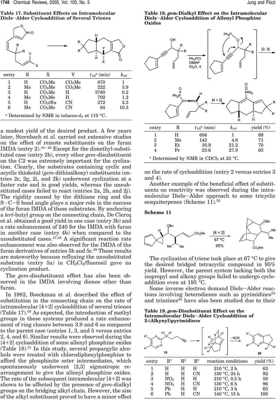 2 4 Me CO 2Me H 702 1.2 5 H CO 2tBu CN 372 2.3 6 Me CO 2Me CN 84 10.3 a Determined by NMR in toluene-d 8 at 110 C. a modest yield of the desired product. A few years later, Sternbach et al.