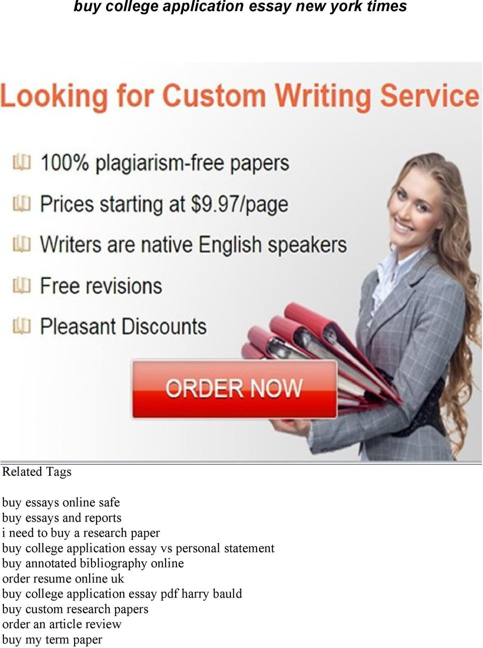 Private School Application Essay Sample