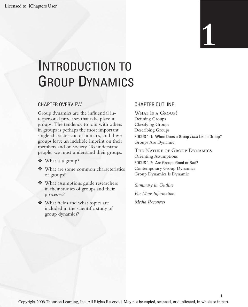 group dynamics study guide Hs 204 group dynamics fall 2008 1 \1my-documents\teaching\exams and study guides\study guides\fall 2008 study guides\fall 2008 hs 204-study guidedoc rev 8/13.