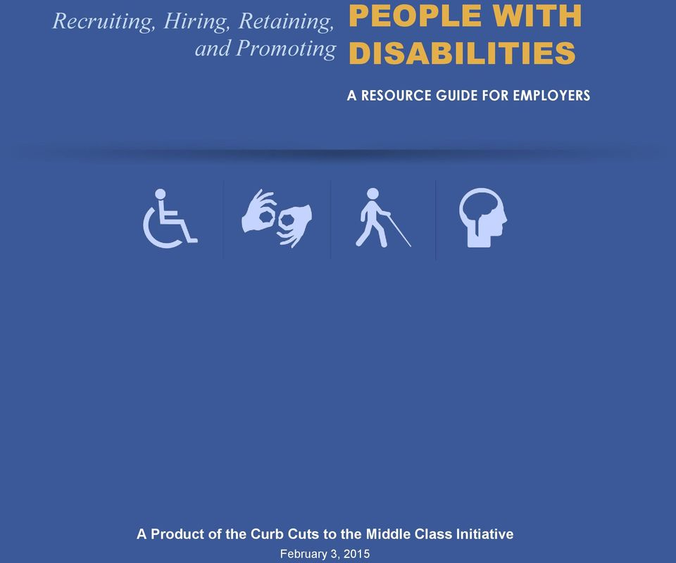 RESOURCE GUIDE FOR EMPLOYERS A Product of