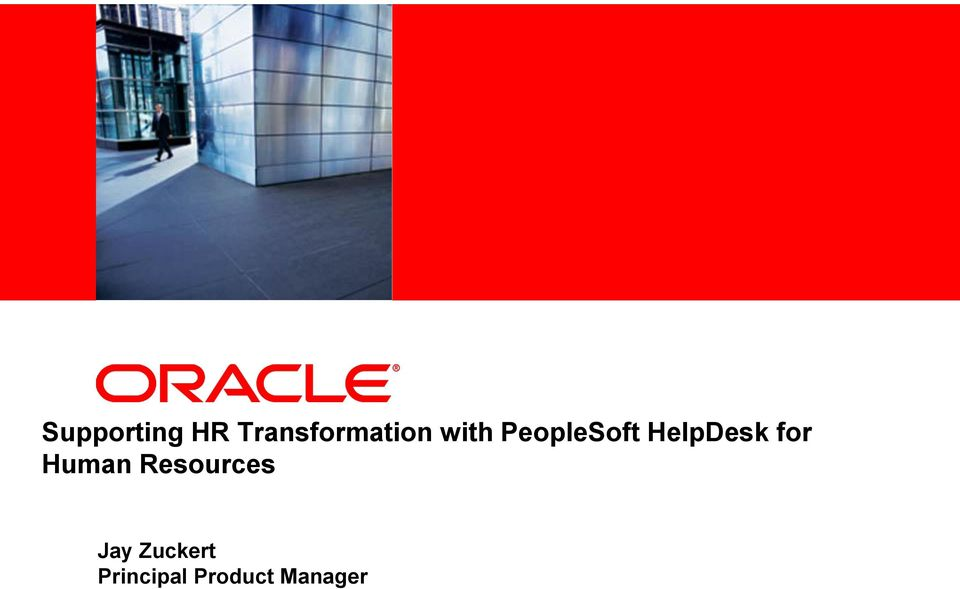 HelpDesk for Human Resources Jay