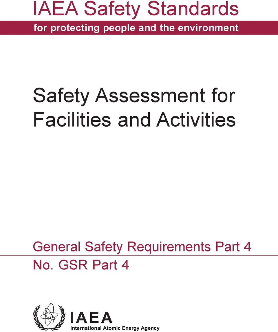 Assessment for Facilities and Activities