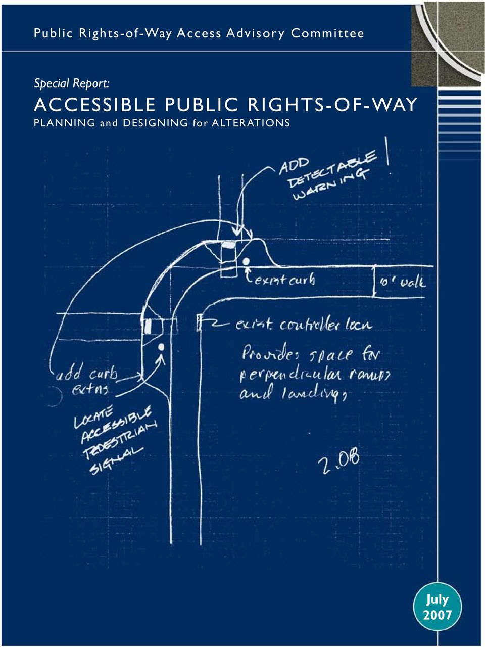 Accessible Public Rights-of-Way