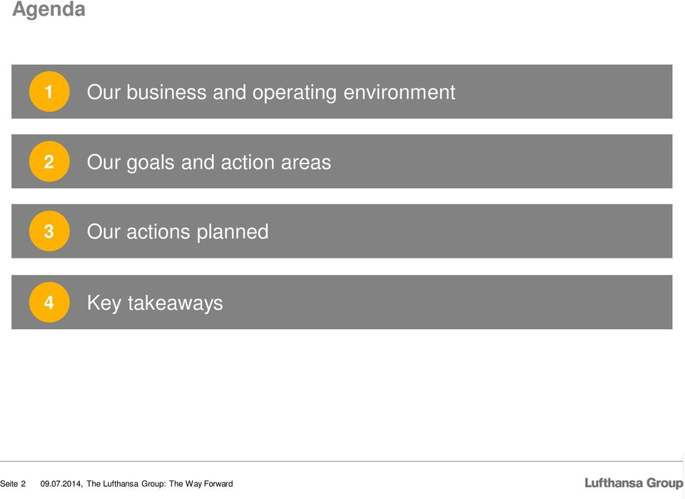 goals and action areas 3 Our