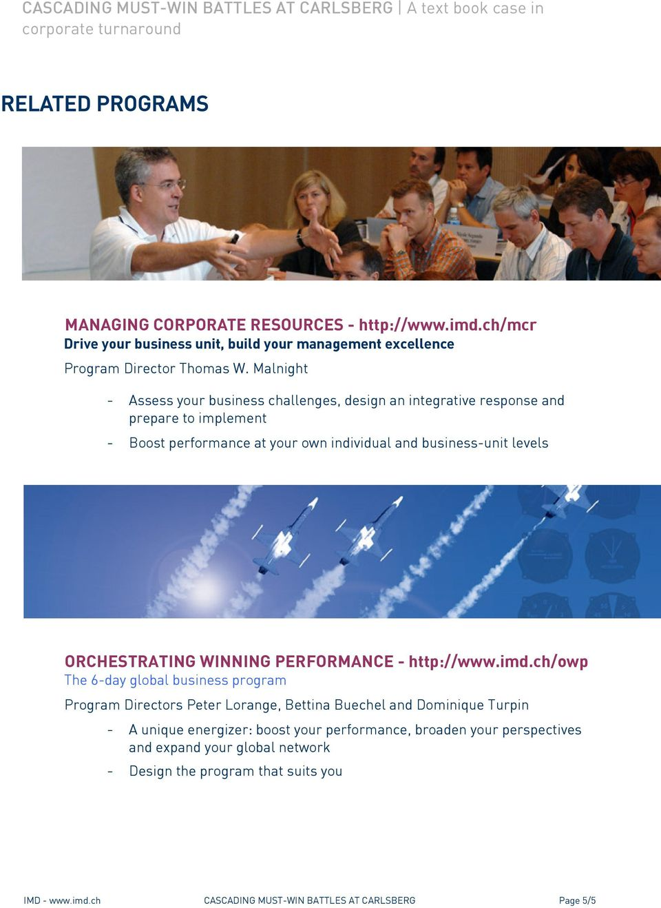 ORCHESTRATING WINNING PERFORMANCE - http://www.imd.