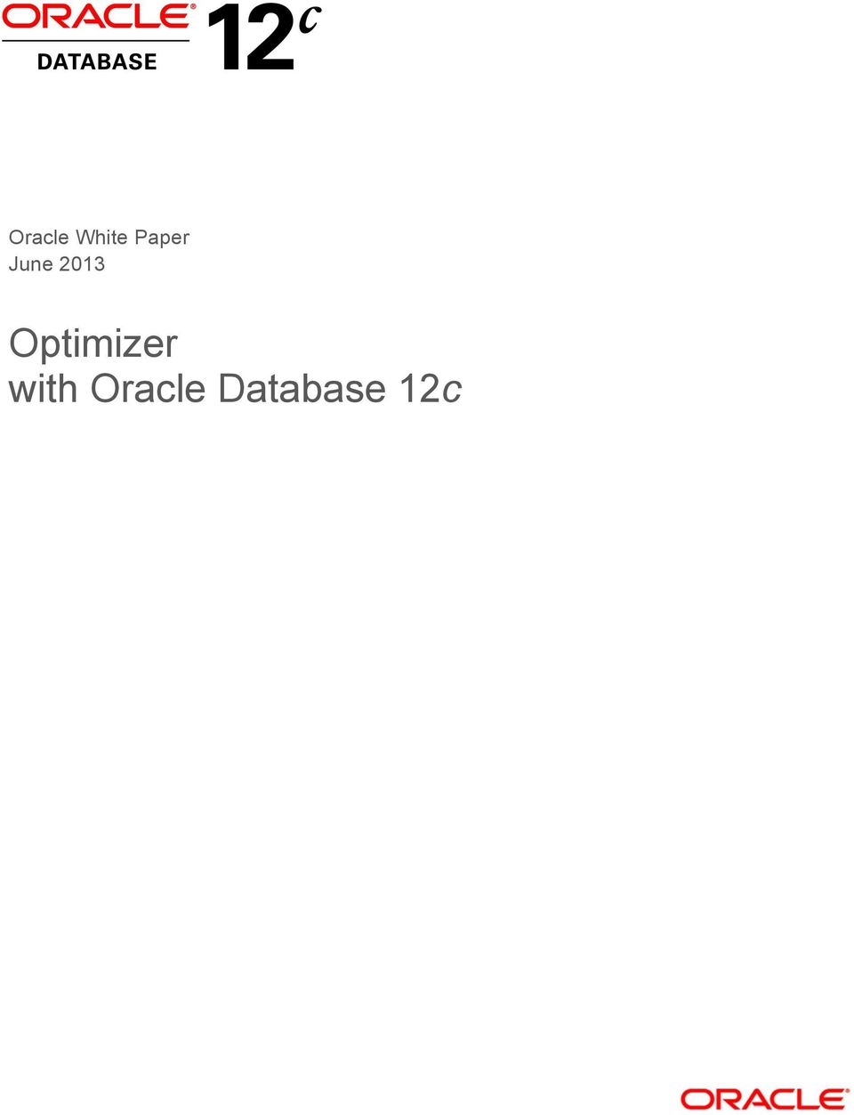 Optimizer with