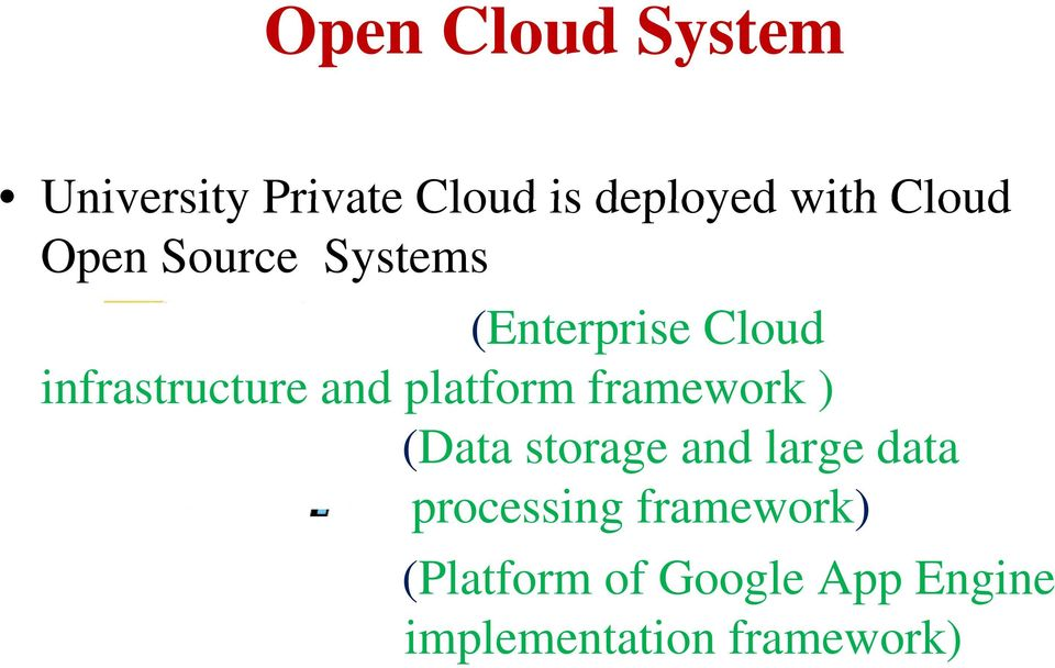 platform framework ) (Data storage and large data processing