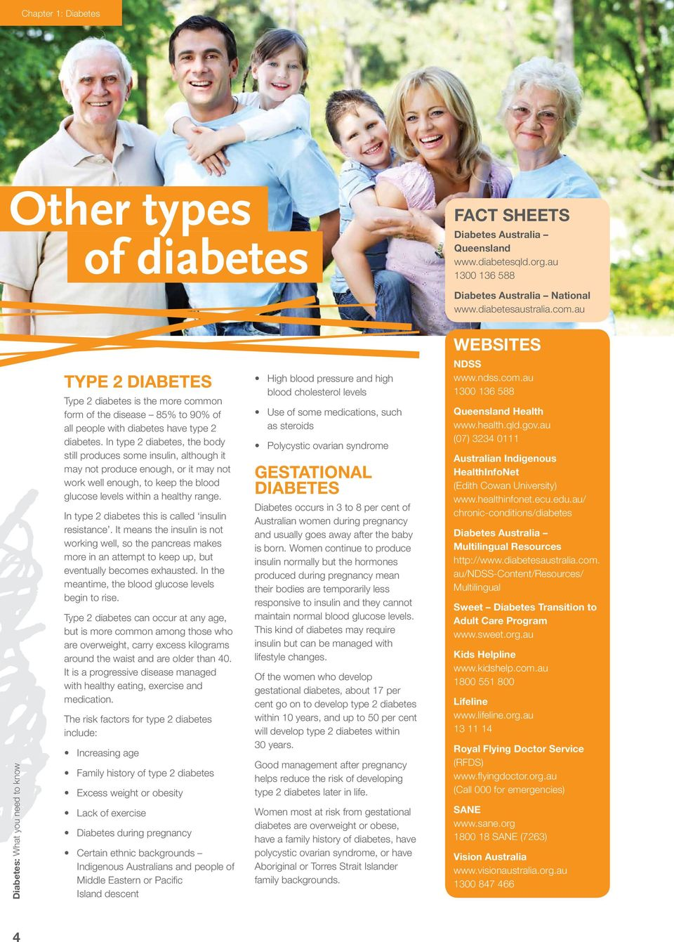 In type 2 diabetes, the body still produces some insulin, although it may not produce enough, or it may not work well enough, to keep the blood glucose levels within a healthy range.