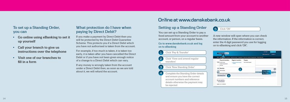 protection do I have when paying by Direct Debit? If you make a payment by Direct Debit then you will be protected by the Direct Debit Guarantee Scheme.
