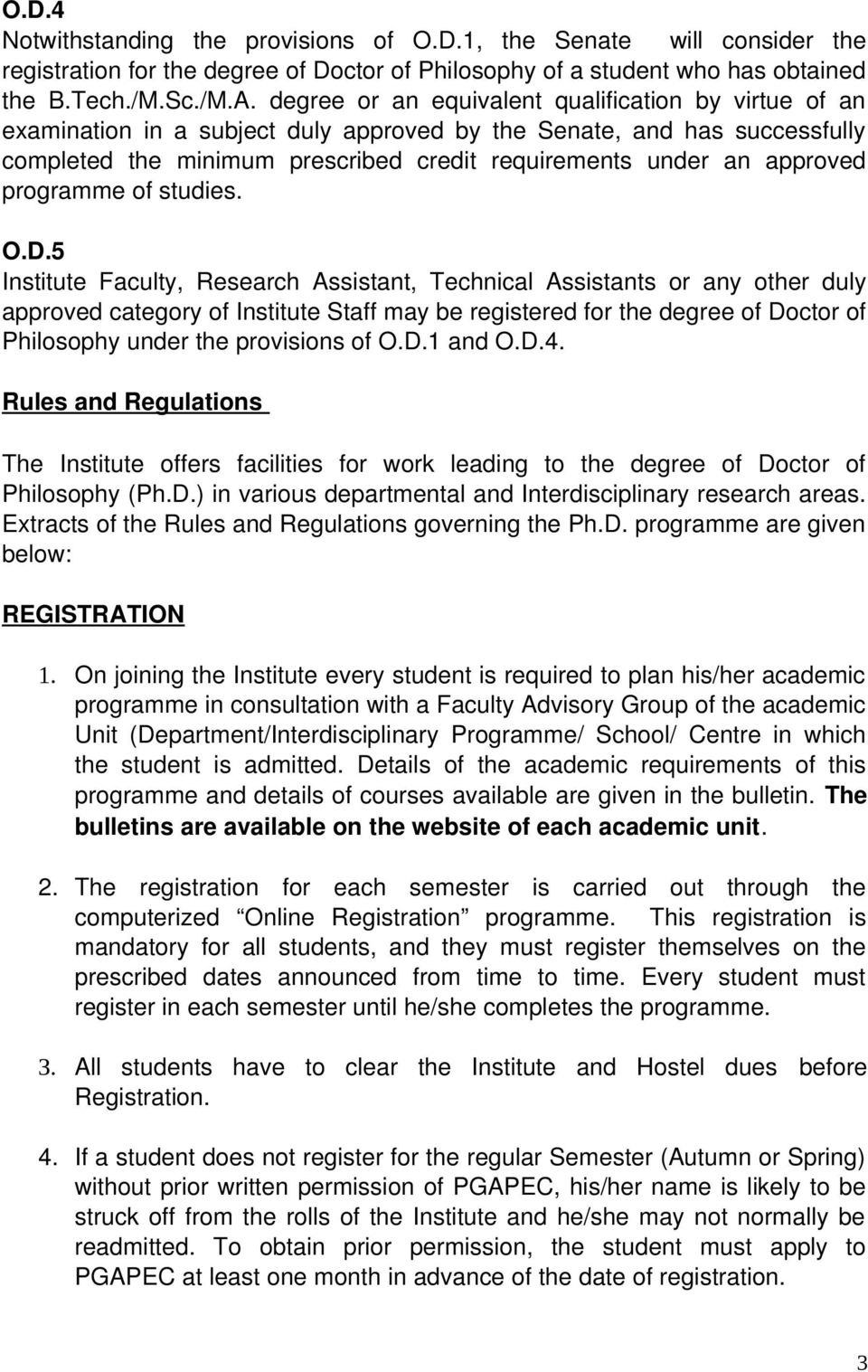 INDIAN INSTITUTE OF TECHNOLOGY BOMBAY RULES AND REGULATIONS - PDF
