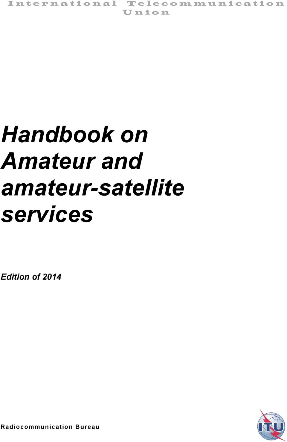 on Amateur and amateur-satellite