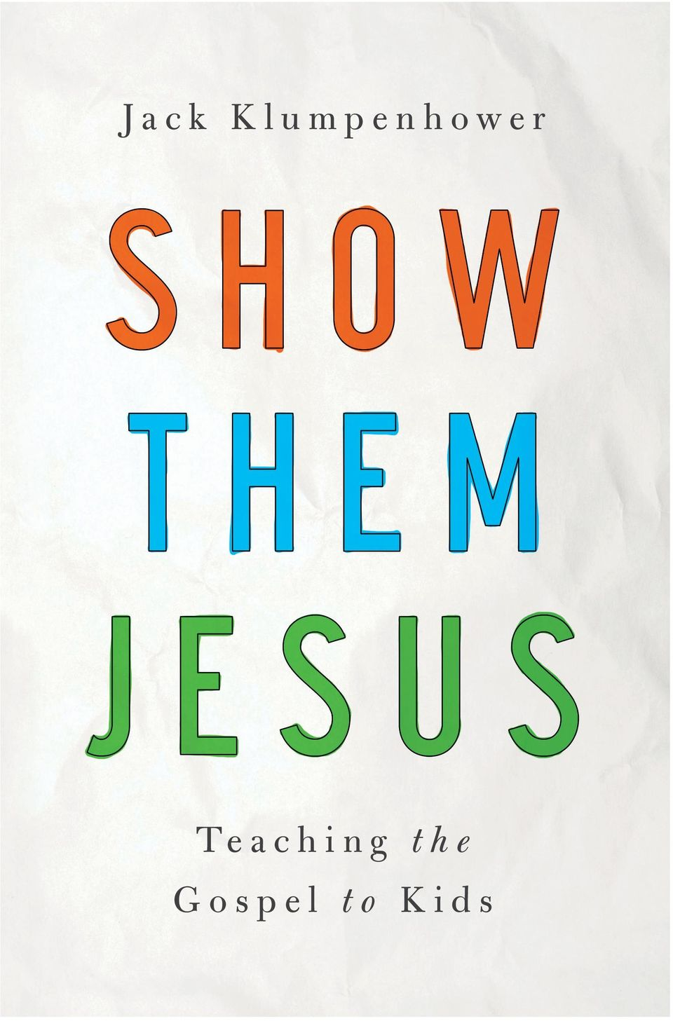 His how-to, gospel-centric approach will complement and enrich existing lessons or teaching materials and help teachers and parents to make the most of every teaching moment, whether in the classroom