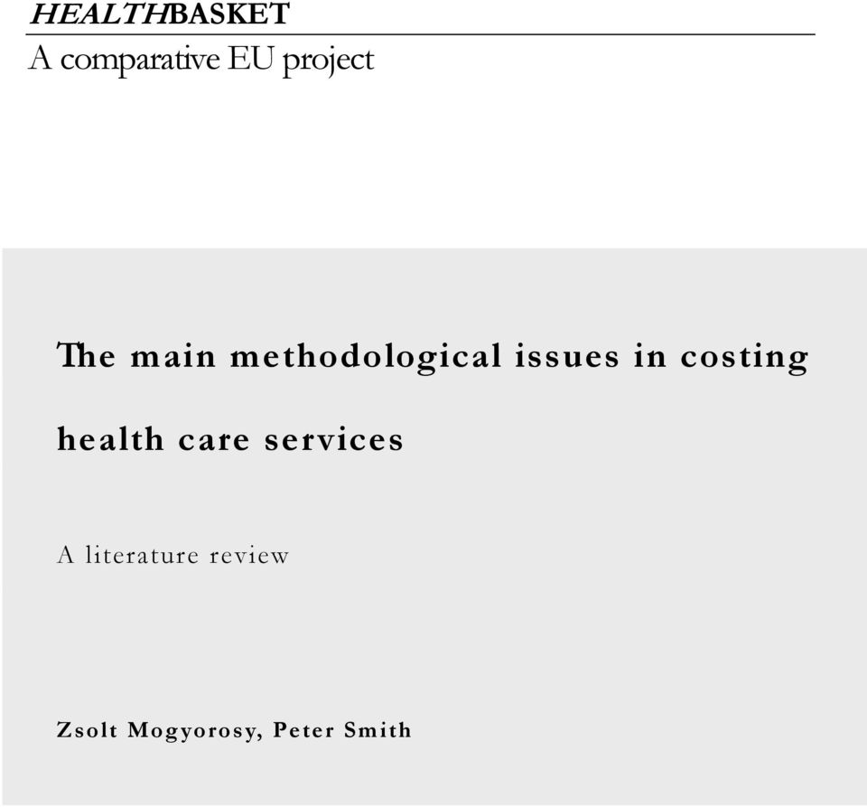 Research Paper on Universal Health Care