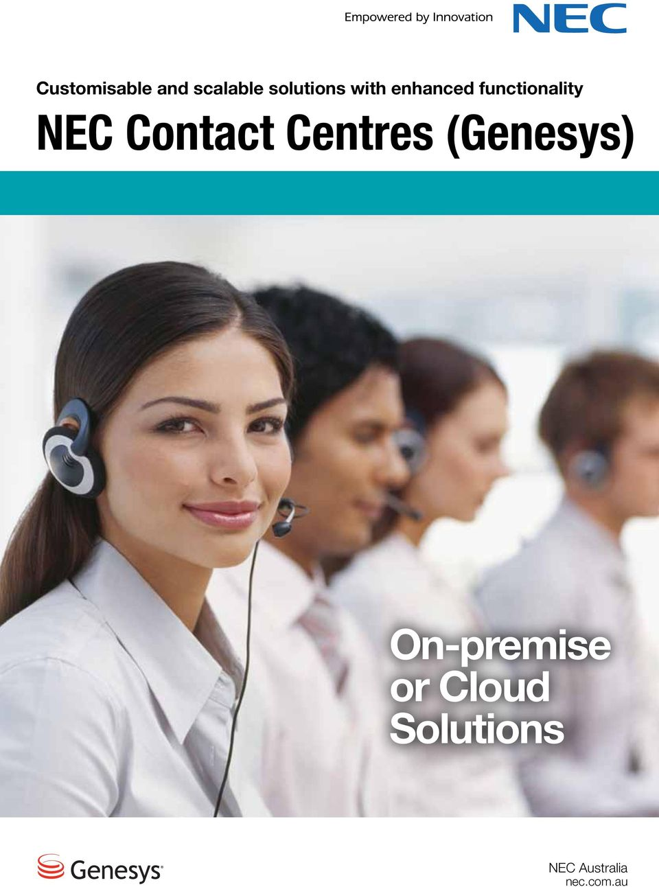 Contact Centres (Genesys) On-premise