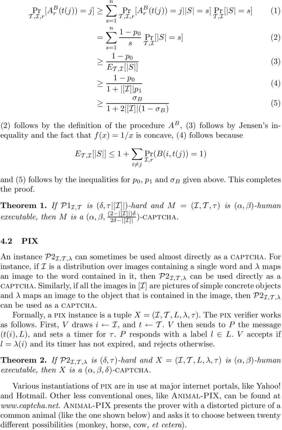 follows by the inequalities for p 0, p 1 and σ B given above. This completes the proof. Theorem 1.