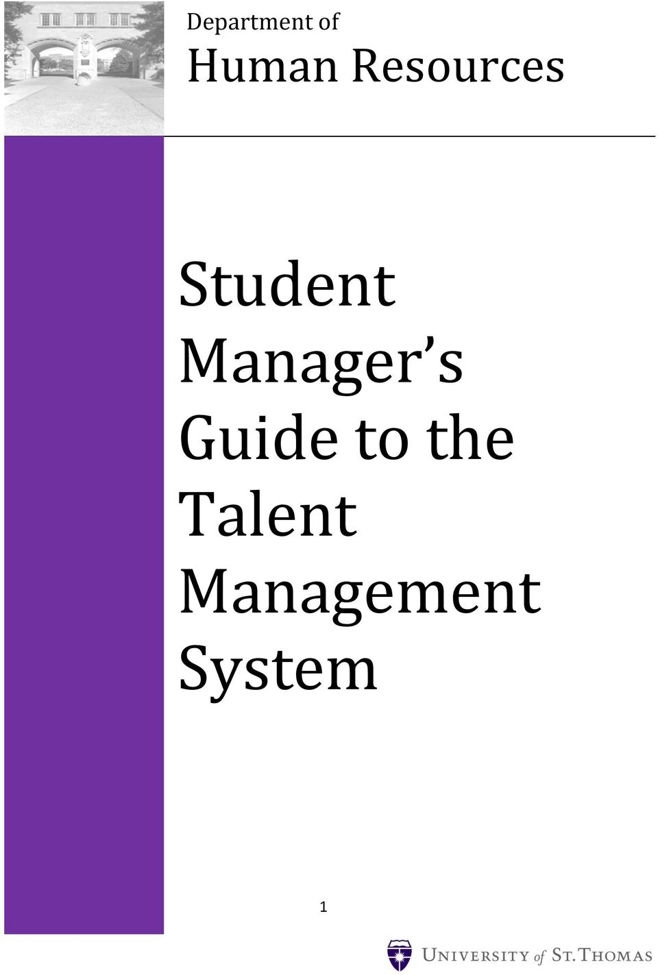 Manager s Guide to the