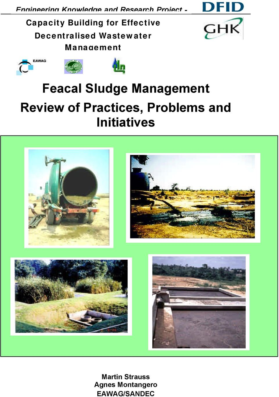 Management Feacal Sludge Management Review of Practices,