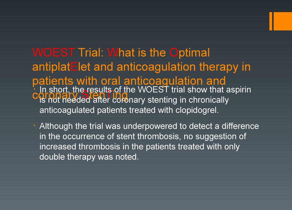 chronically anticoagulated patients treated with clopidogrel.