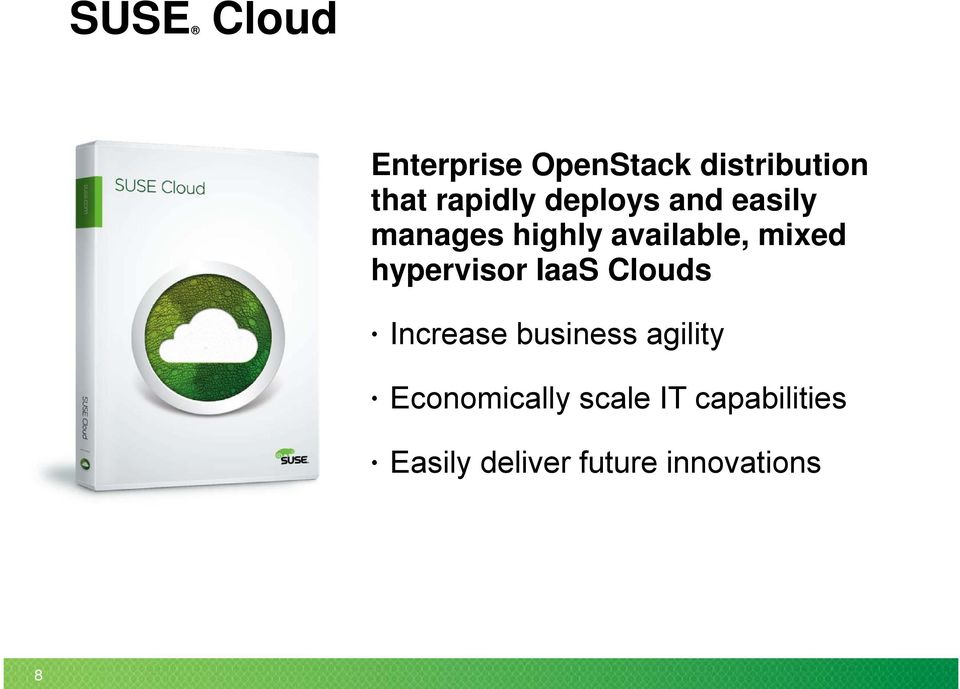 mixed hypervisor IaaS Clouds Increase business agility