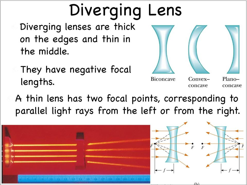 They have negative focal lengths.