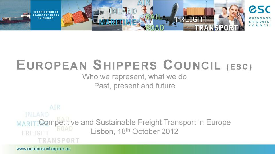 future Competitive and Sustainable Freight