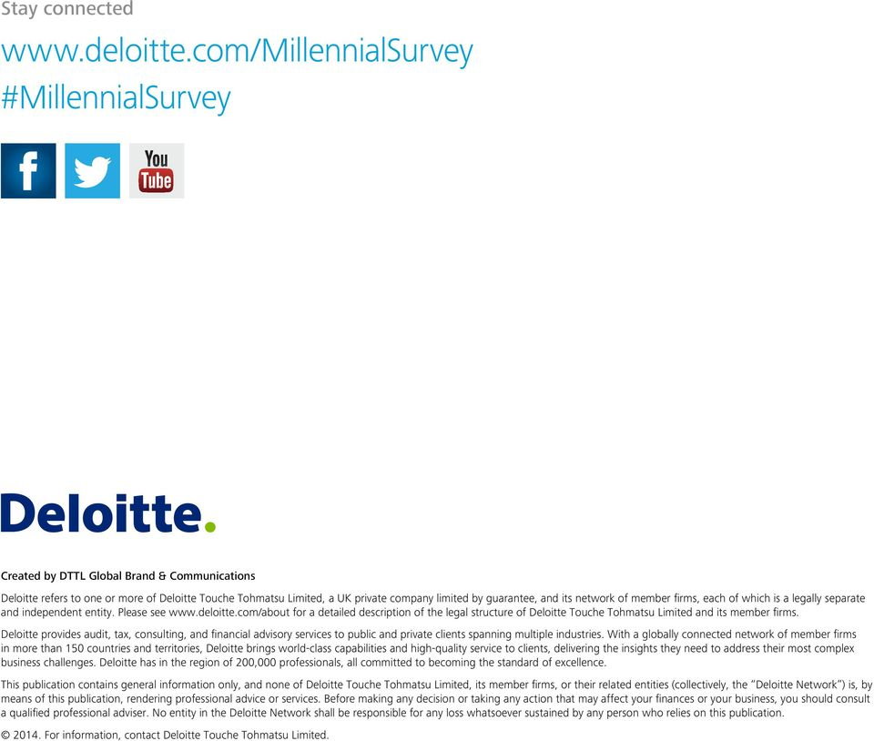 its network of member firms, each of which is a legally separate and independent entity. Please see www.deloitte.