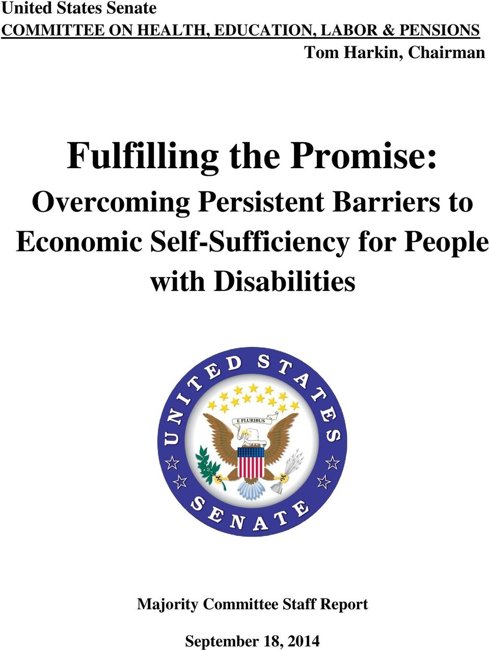 Overcoming Persistent Barriers to Economic Self-Sufficiency for