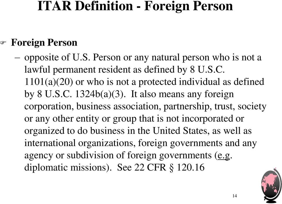 1101(a)(20) or who is not a protected individual as defined by 8 U.S.C. 1324b(a)(3).