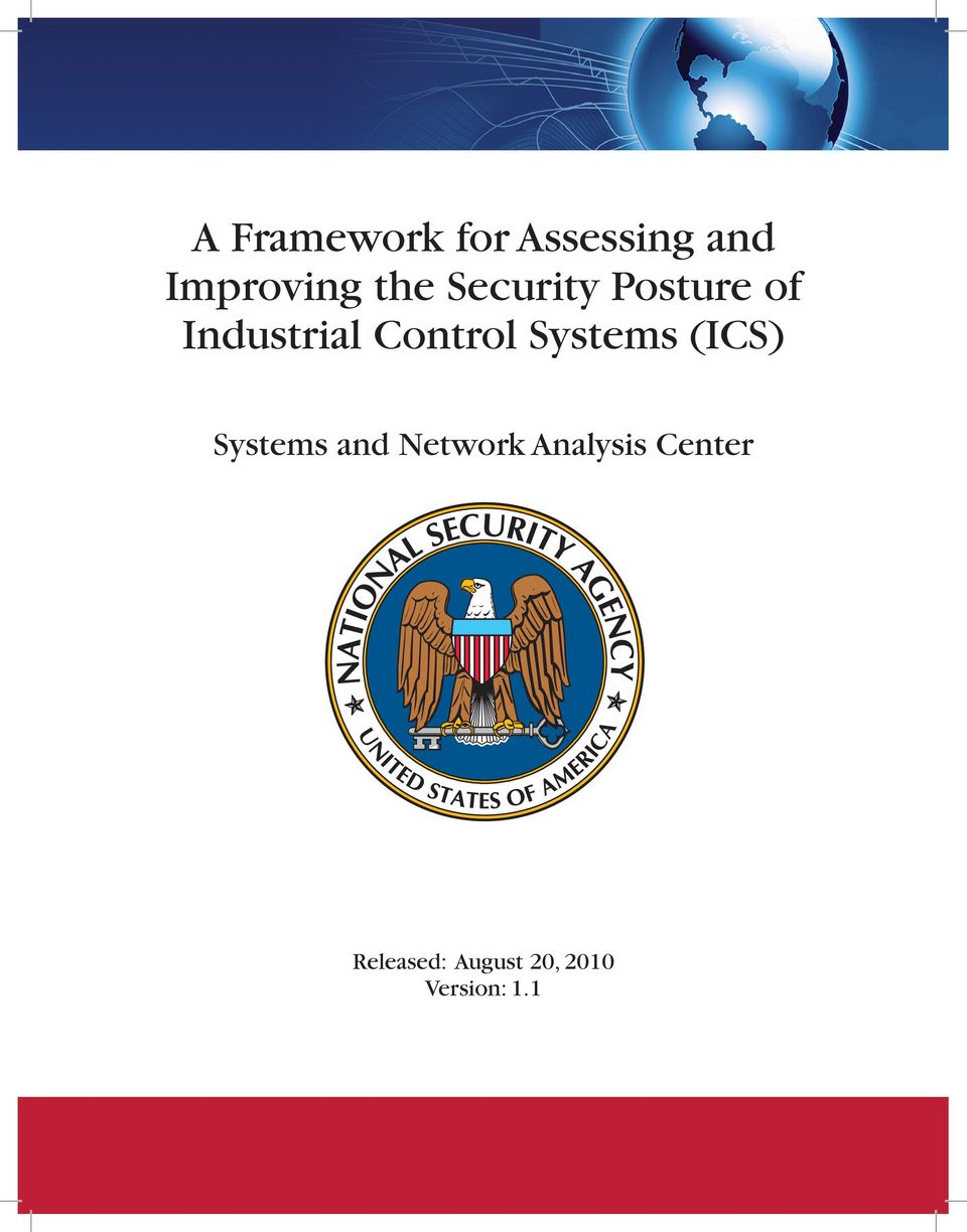 Systems (ICS) Systems and Network Analysis