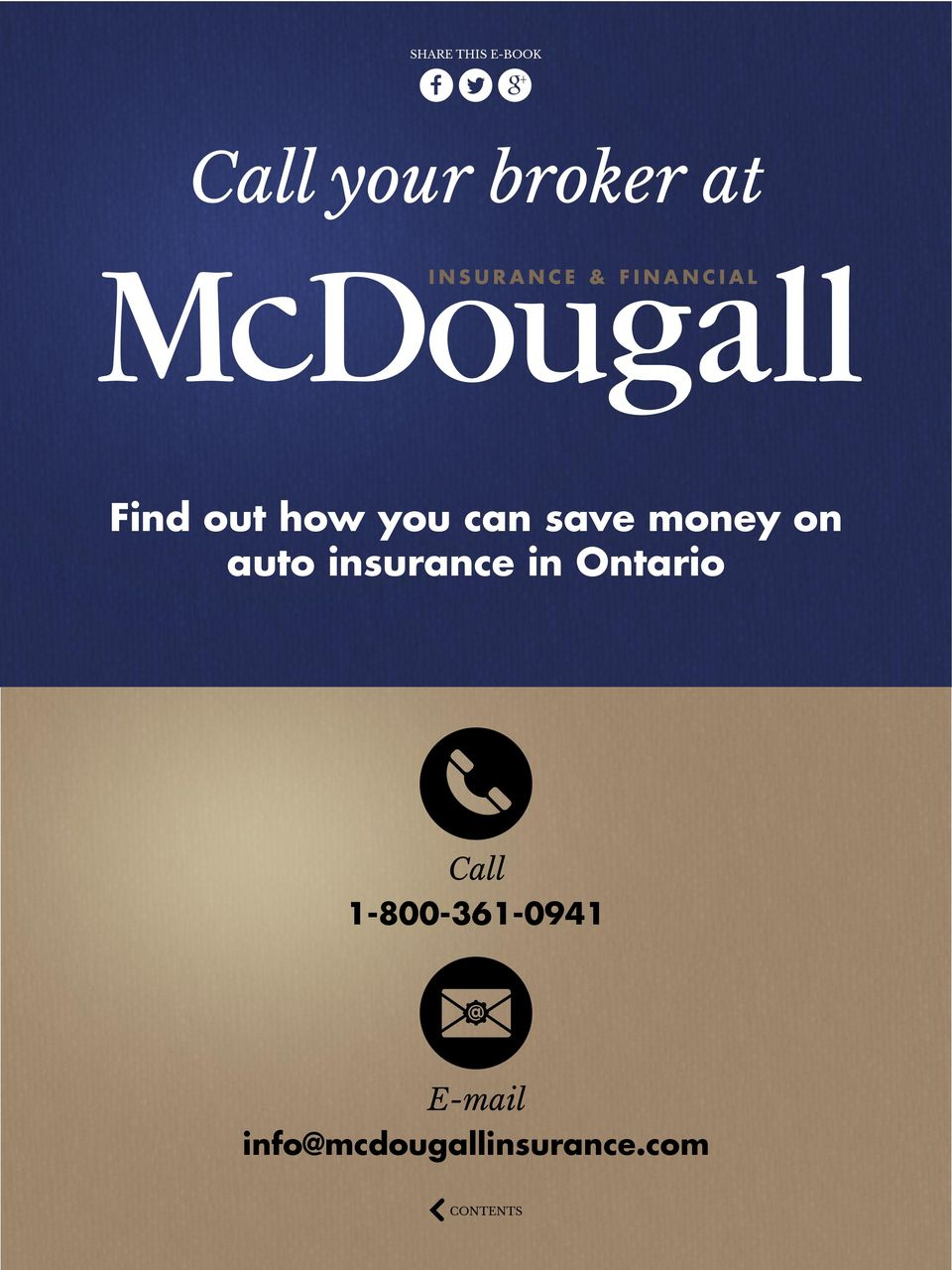 insurance in Ontario Call