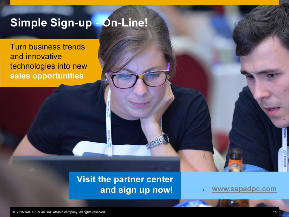 new sales opportunities Visit the partner center and