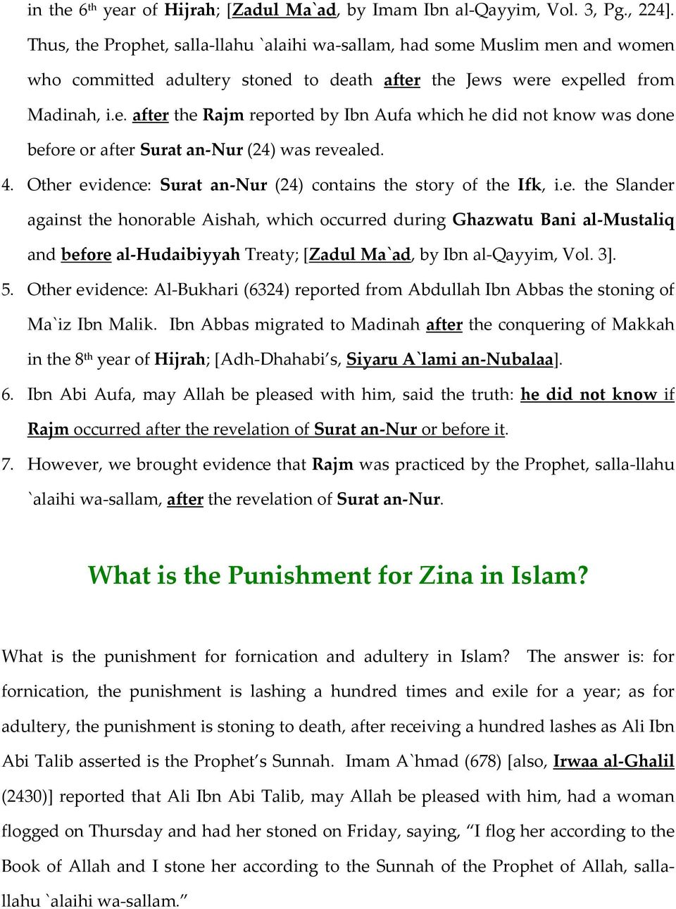 4. Other evidence: Surat an-nur (24) contains the story of the Ifk, i.e. the Slander against the honorable Aishah, which occurred during Ghazwatu Bani al-mustaliq and before al-hudaibiyyah Treaty; [Zadul Ma`ad, by Ibn al-qayyim, Vol.