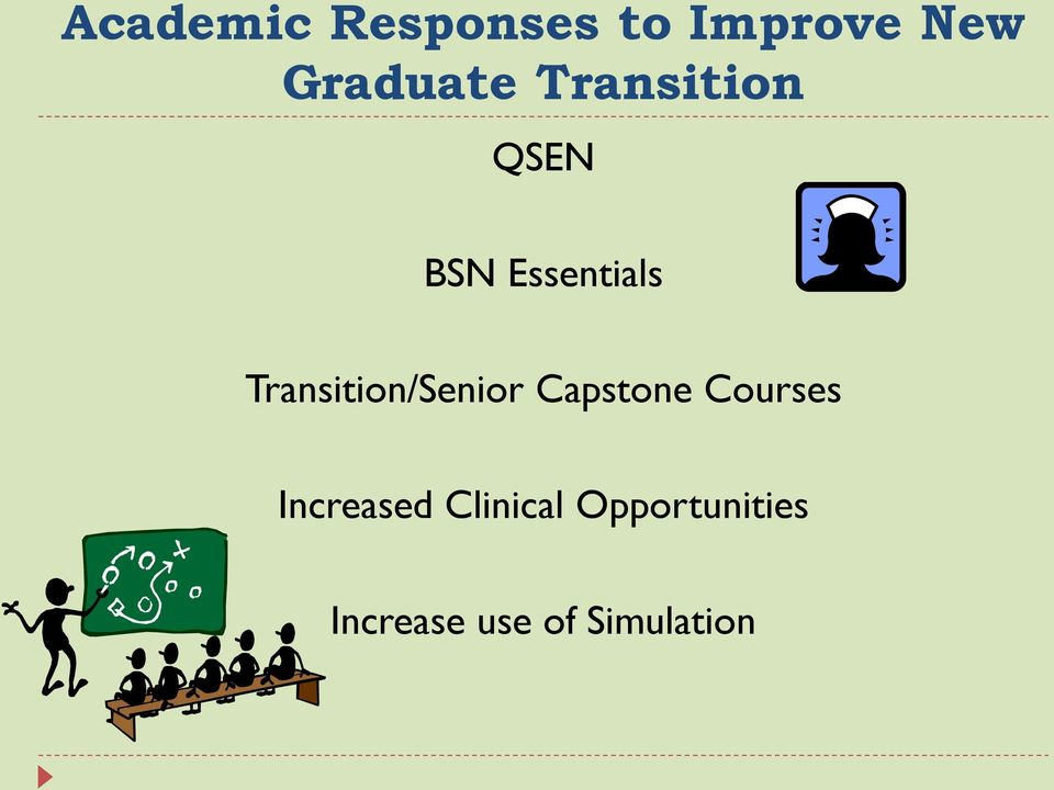 Transition/Senior Capstone Courses