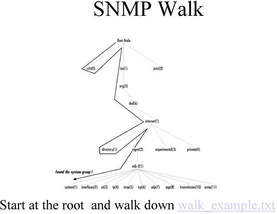 root and walk