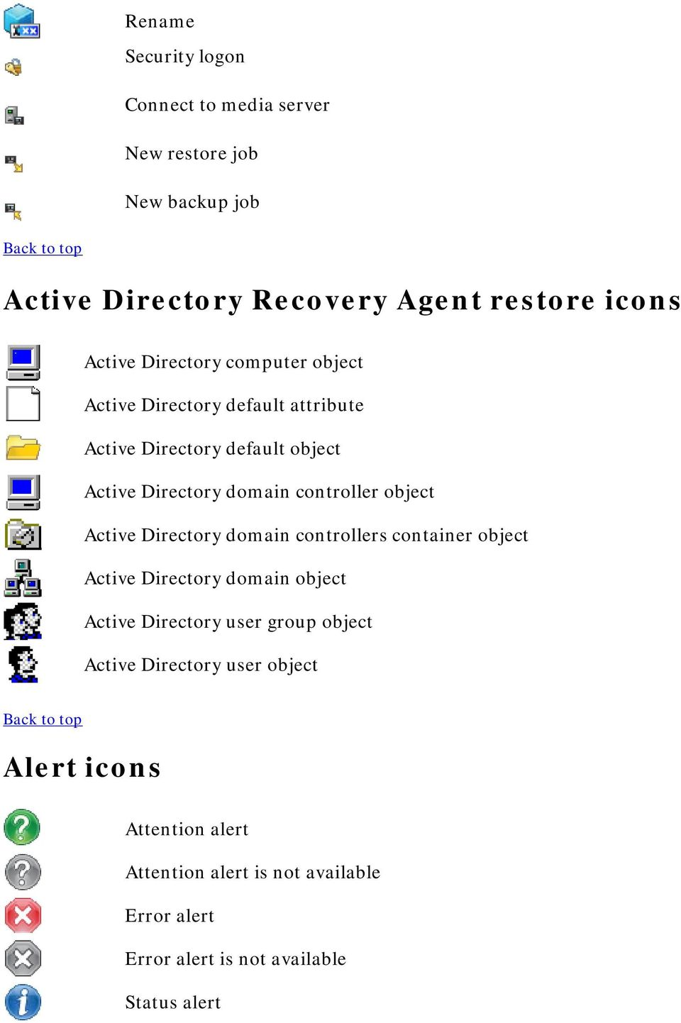 object Active Directory domain controllers container object Active Directory domain object Active Directory user group object