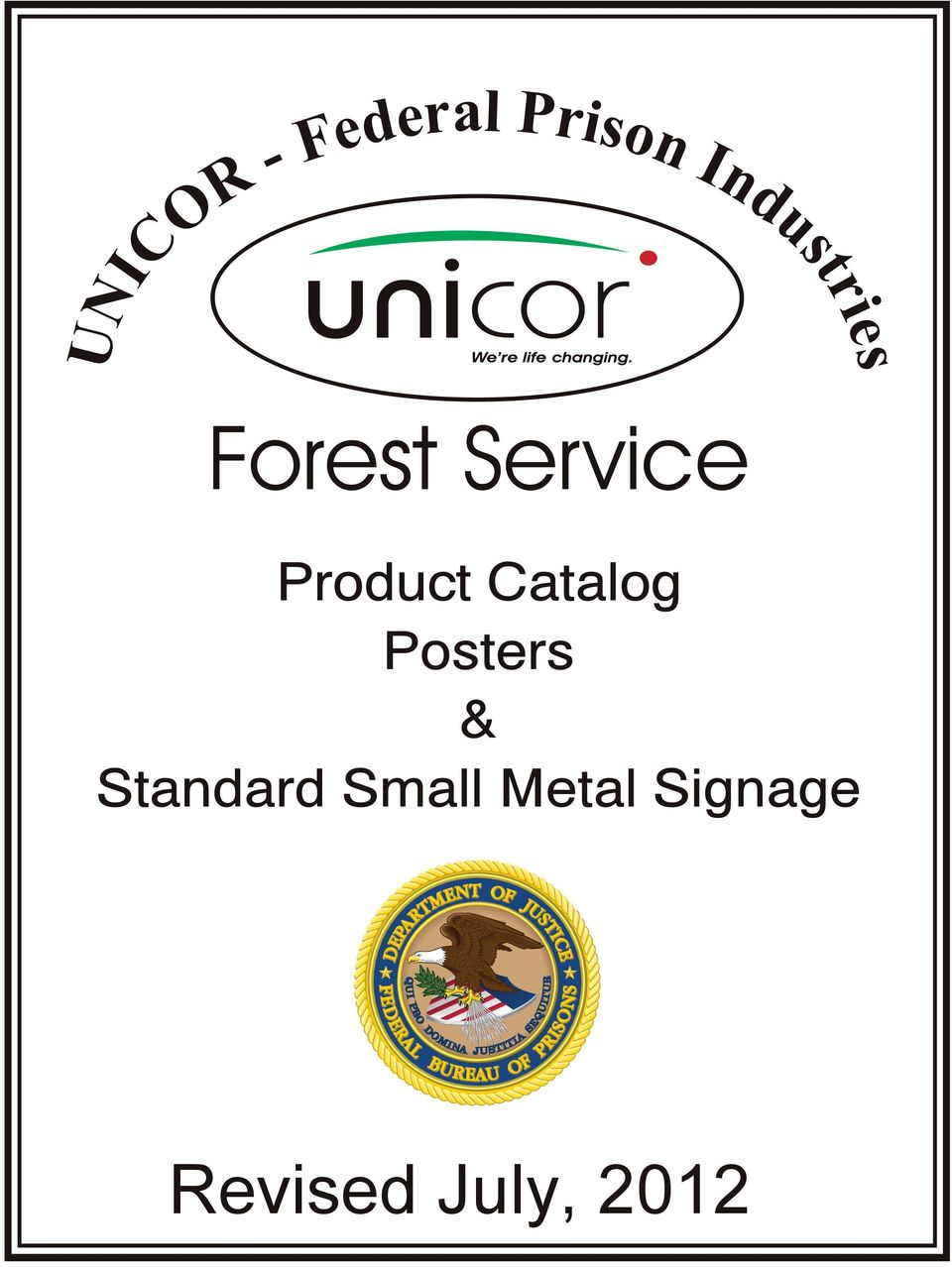 Product Catalog Posters &