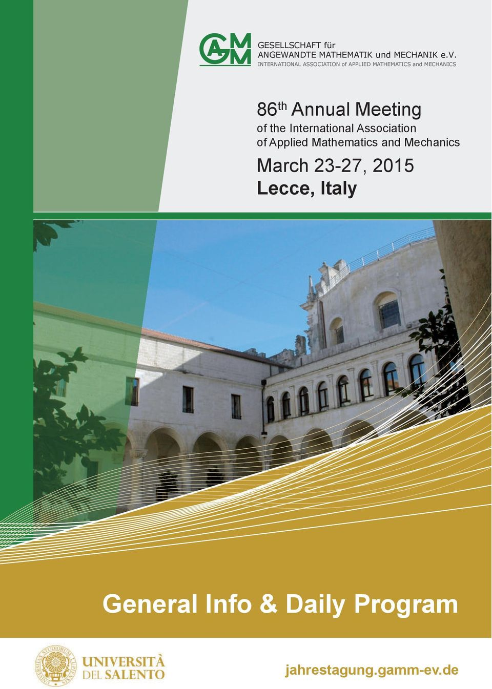 Annual Meeting of the International Association of Applied Mathematics