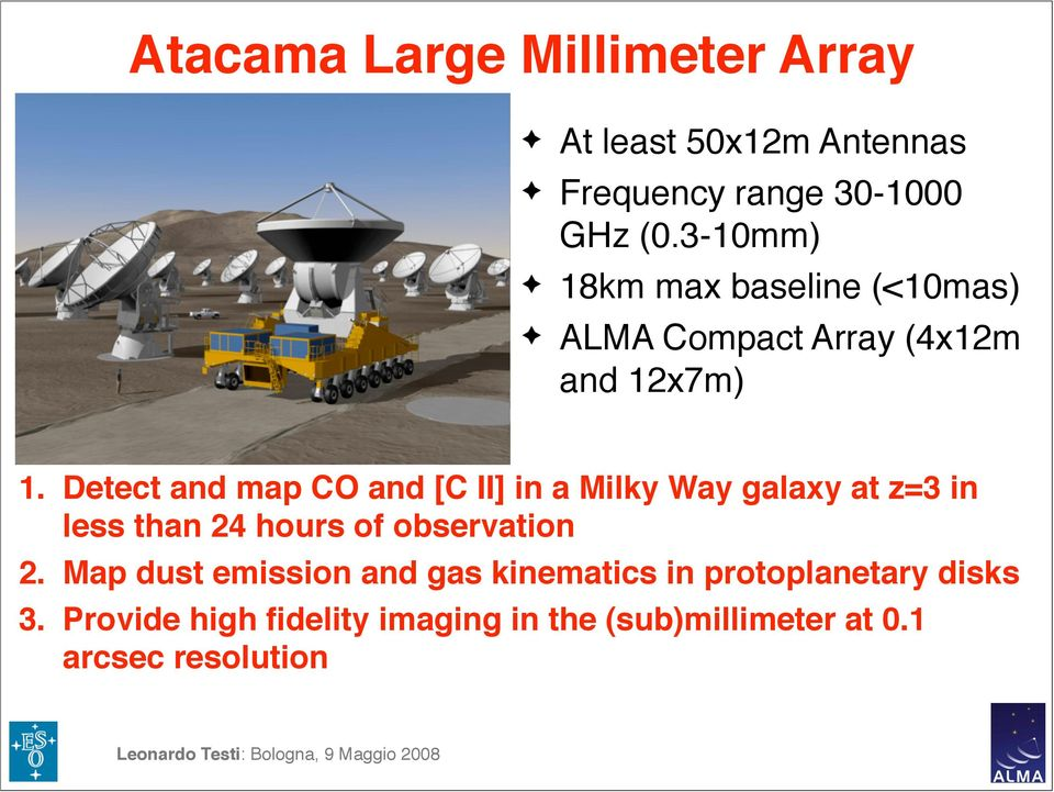 Detect and map CO and [C II] in a Milky Way galaxy at z=3 in less than 24 hours of observation 2.