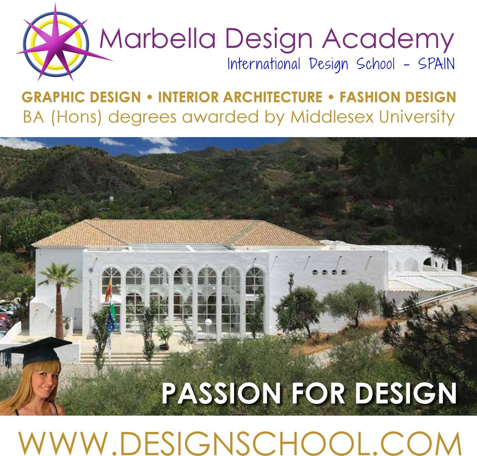 ARCHITECTURE FASHION DESIGN BA (Hons) degrees