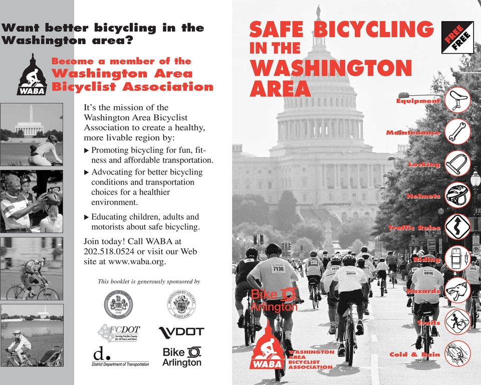 bicycling for fun, fitness and affordable transportation. Advocating for better bicycling conditions and transportation choices for a healthier environment.