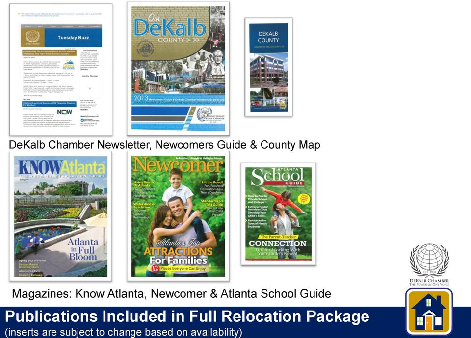 School Guide Publications Included in Full Relocation
