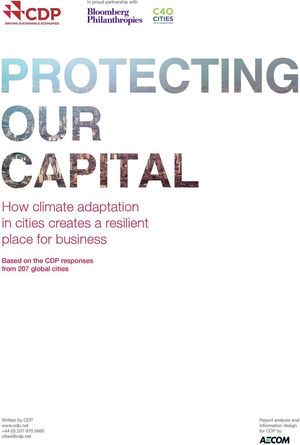 responses from 207 global cities Written by CDP www.cdp.
